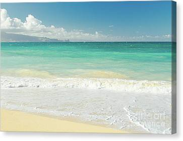 Canvas Print featuring the photograph This Paradise Life by Sharon Mau