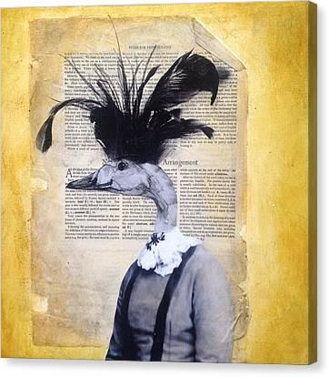 This Quacks Me Up Canvas Print by Susan McCarrell