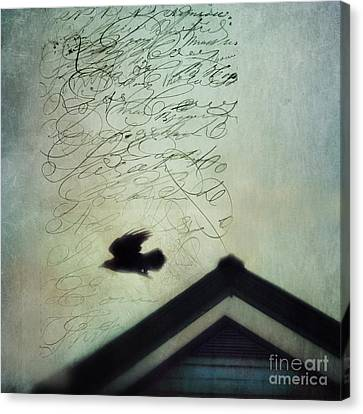 This Roof Is My Home Canvas Print by Priska Wettstein