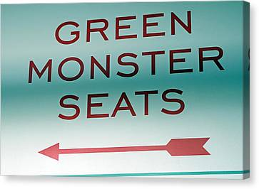 This Way To The Green Monster Seats Canvas Print by Juergen Roth