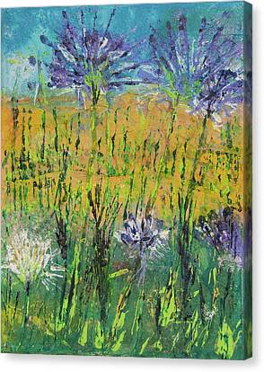 Thistles Too Canvas Print