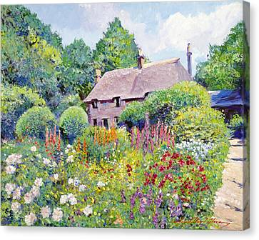 Thomas Hardy House Canvas Print by David Lloyd Glover