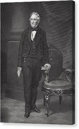 Thomas Hart Benton 1782 To 1858 Canvas Print