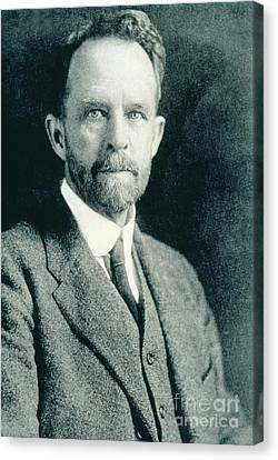 Thomas Hunt Morgan, American Geneticist Canvas Print by Photo Researchers, Inc.