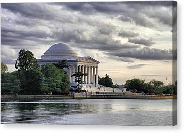 Thomas Jefferson Memorial Canvas Print