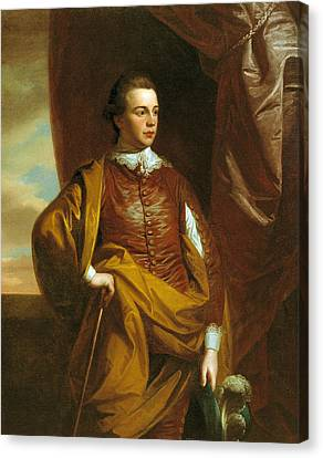 Thomas Middleton Of The Oaks Canvas Print by Benjamin West