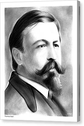 Thomas Nast Canvas Print by Greg Joens