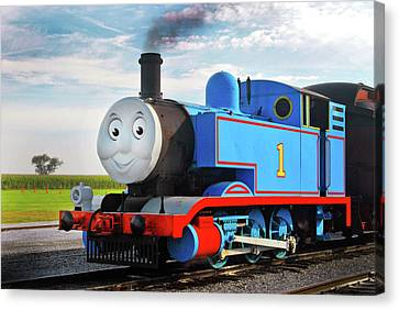 Paul Faust Canvas Print - Thomas The Train by Paul W Faust -  Impressions of Light