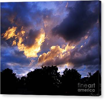 Thomson Sky Canvas Print