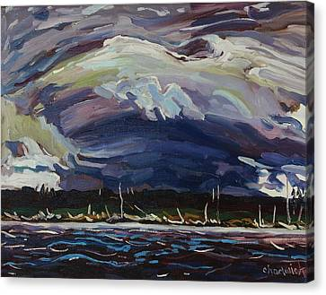 Thomson's Thunderhead Canvas Print by Phil Chadwick