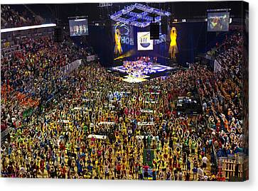 Thon 2012 Canvas Print by Michael Misciagno