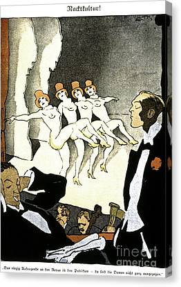 Thony: Nacktkultur, 1926 Canvas Print by Granger