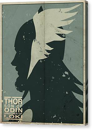 Thor Canvas Print by Michael Myers