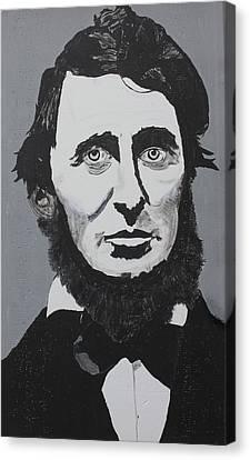 Thoreau Canvas Print by Ralph LeCompte