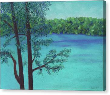 Thoreau's View Canvas Print