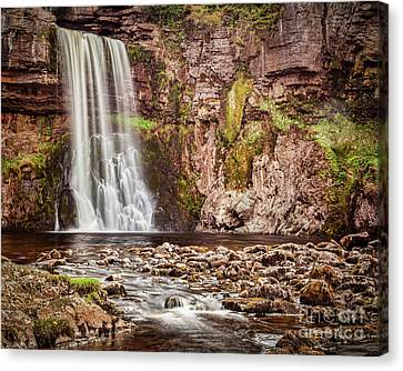 Thornton Force, Yorkshire Dales Canvas Print by Colin and Linda McKie