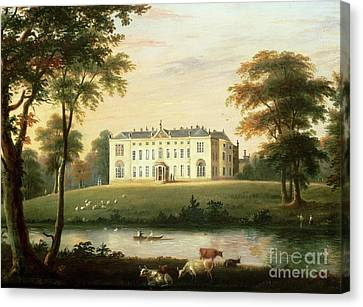 Thorp Perrow Near Snape In Yorkshire Canvas Print by English School