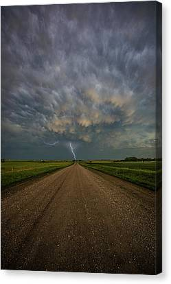 Canvas Print featuring the photograph Thor's Chariot  by Aaron J Groen