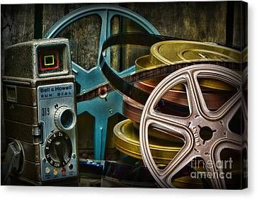 Those Old Movies Canvas Print by Paul Ward