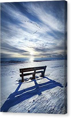 Those Seconds Before Canvas Print by Phil Koch