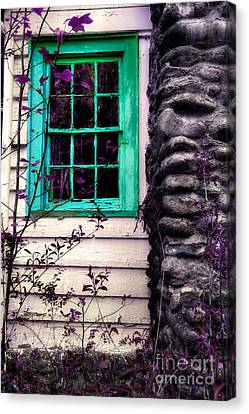 Abandoned House Canvas Print - Those Times Live In Our Dreams by Michael Eingle