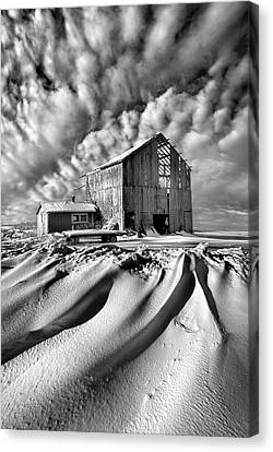Canvas Print featuring the photograph Those Were The Days by Phil Koch