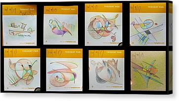 Canvas Print - Thought Pad Series by Dave Martsolf