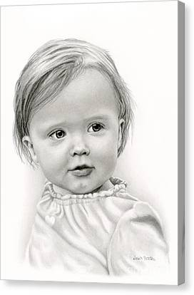 Thoughtful Eyes Canvas Print