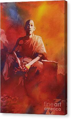 Thoughtful Moment- Nepal Canvas Print by Ryan Fox