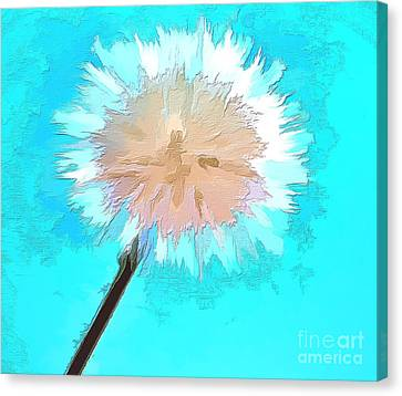 Thoughtful Wish Canvas Print