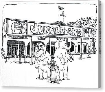 Thousand Oaks Ca Jungleland Canvas Print