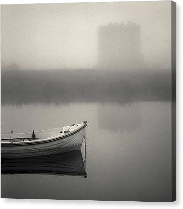 Threave Castle In The Mist Canvas Print