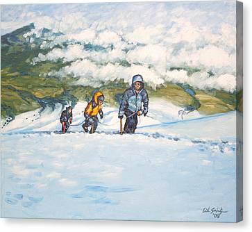 Three Amigos Canvas Print by Erik Schutzman