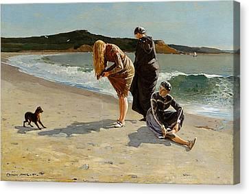 Three Bathers Canvas Print