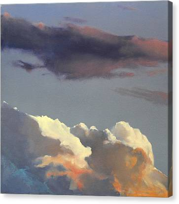 Three Clouds Sold Canvas Print