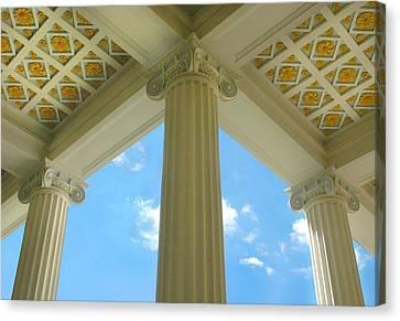 Three Columns Canvas Print by Dan Holm