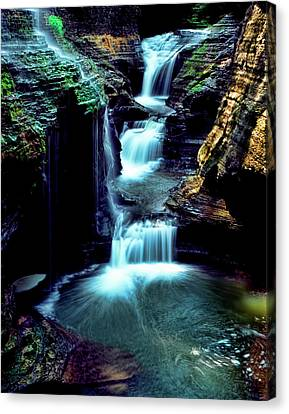 Three Falls Canvas Print