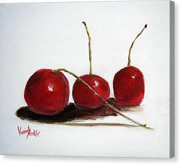 Sweet Cherries Canvas Print