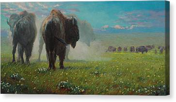 Three Kings Canvas Print by Jim Clements