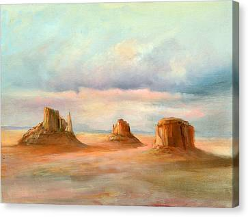Three Kings Canvas Print by Sally Seago