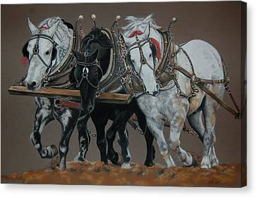 Three Kings Canvas Print