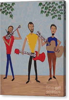 Three Musicians Canvas Print by Gregory Davis