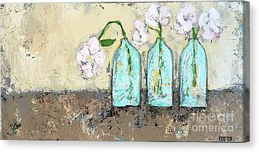 Three Of A Kind Canvas Print by Kirsten Reed