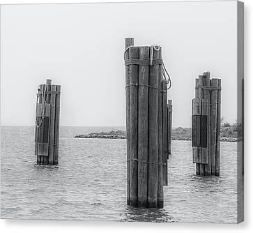 Three Pillars Canvas Print