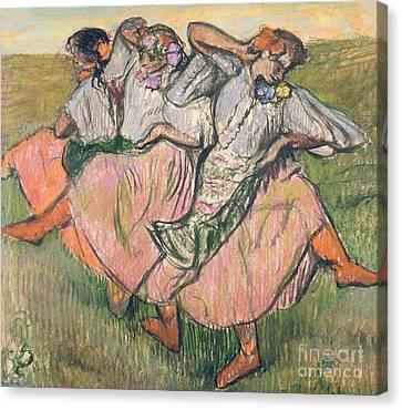 Three Russian Dancers Canvas Print
