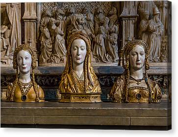 Three Saints Canvas Print by Capt Gerry Hare
