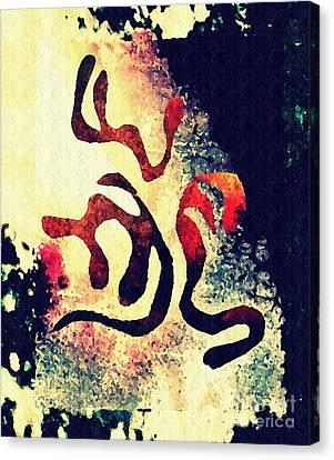 Abstract Digital Canvas Print - Three by Sarah Loft