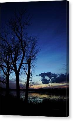 Canvas Print featuring the photograph Three Sisters by Cricket Hackmann