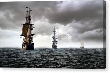 Three Sisters Canvas Print by Peter Chilelli