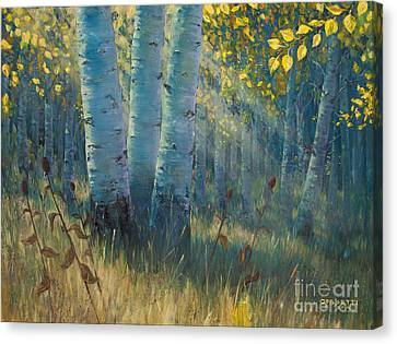 Three Sisters - Spirit Of The Forest Canvas Print